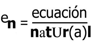 Ecuación Natural